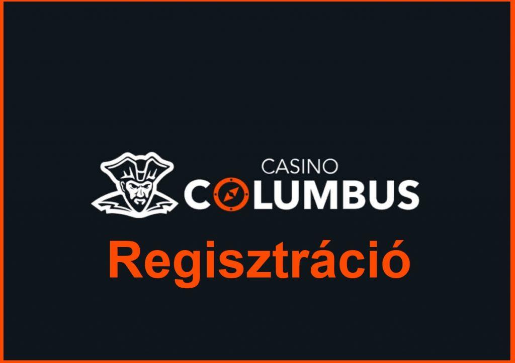 Columbus Regisztráció