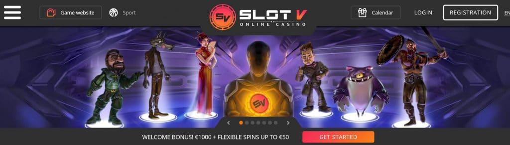 SlotV kaszinó platformon