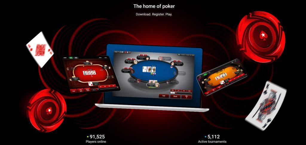 A Poker Stars mobilalkalmazás